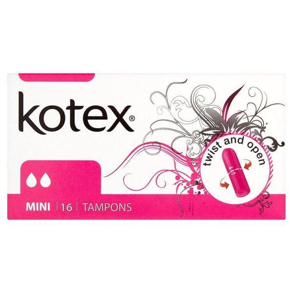 Băng Vệ Sinh TAMPONS Kotex Ultrasofb (16 Miếng / hộp) - Nhập Khẩu Từ Czech giá rẻ
