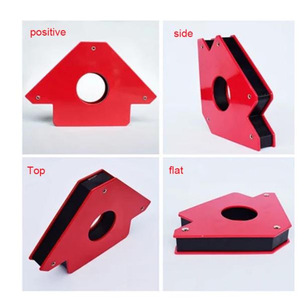 Bộ 4 sản phẩm Nam châm ke góc vuông đẹp, chất lượng, giá rẻ lực hút 22kg - phụ kiện  máy hàn nhôm[WM][PK]