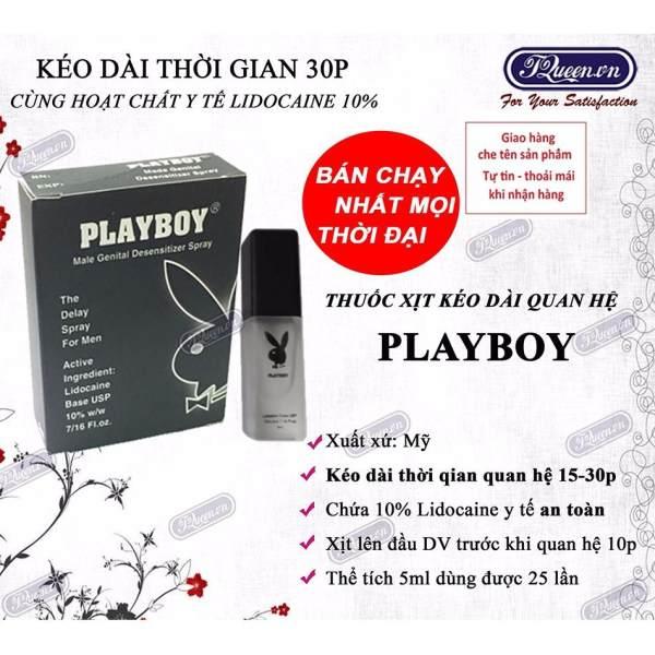 Chai xịt kéo dài thời gian Playboy 5ml