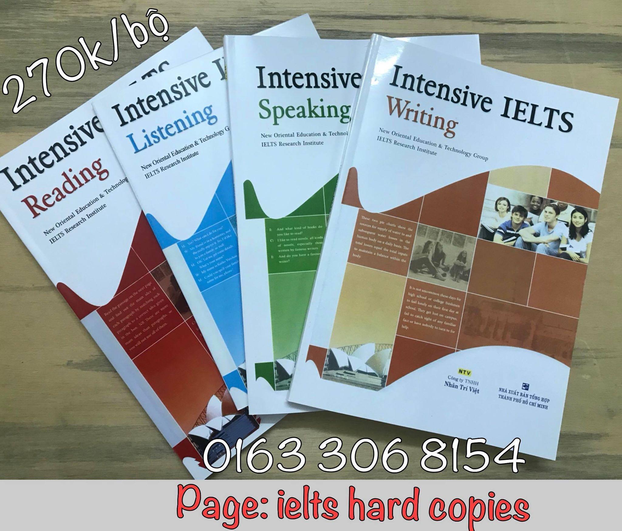 Intensive IELTS - Bán Lẻ Siêu Khuyến Mại