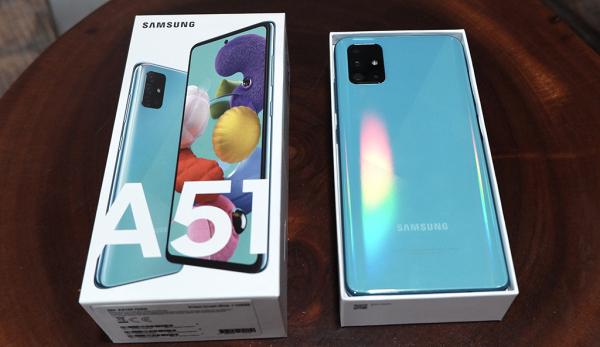 Điện thoại Samsung Galaxy A51 (6Gb/128Gb)- BH 12 tháng giá siêu ưu đãi