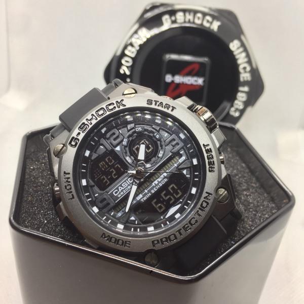 Đồng hồ nam Casio G-shock GTS 8600 Original –Chống nước 3atm Viền Thép không gỉ, Nam tính, Mạnh mẽ, Full box ,55mm bán chạy