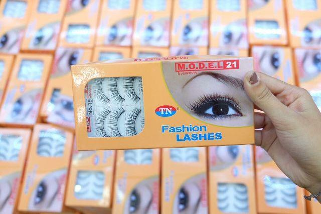 Bộ 10 cặp lông mi giả Fashion Lashes TN cao cấp Việt Nam tốt nhất