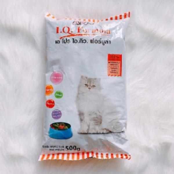 [Chất & Rẻ] Thức Ăn Hạt Khô Cho Mèo, Thú Cưng APro IQ Formula 500g