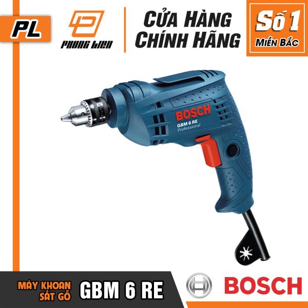[Chính Hãng] Máy Khoan Bắt Vít Bosch GBM 6 RE (6.5MM-350W)