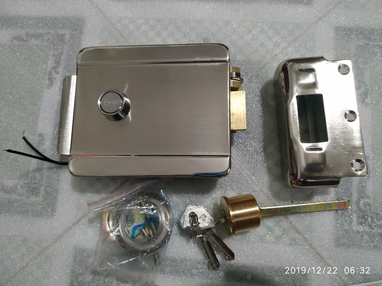 Khóa điện 12V - khóa cửa cổng , cửa nhà