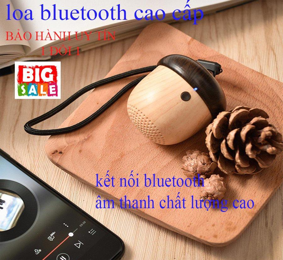 Bán loa mini giá rẻ - Loa mini bluetooth giá rẻ - Loa bluetooth nhỏ gọn hình quả sồi , loa bluetooth nghe nhạc thông minh, âm thanh trầm lắng nhỏ nhẹ, gọn gàng tiện dụng - Bảo hành uy tín 1 đổi 1 bởi Minano SG.