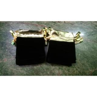 Túi rút đen nhung size 8x10cm thumbnail