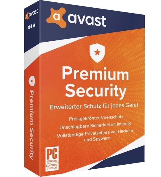 Bảng giá Phần mềm Avast Premium Security License Key 2021 1 năm 1 PC Phong Vũ