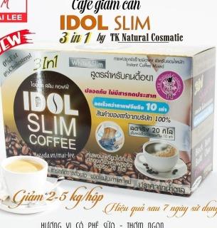 Cafe giảm cân Idol Slim Coffee 3 IN 1 ( mẫu mới 2019 ) - Hàng Chuẩn Thái Lan thumbnail