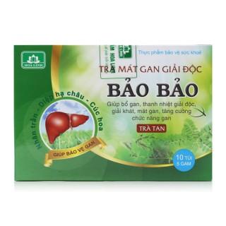 Trà giải độc gan Bảo Bảo - Thanh nhiệt, mát gan, giải độc, giải rượu - Hộp 30 túi - BB1-01 thumbnail