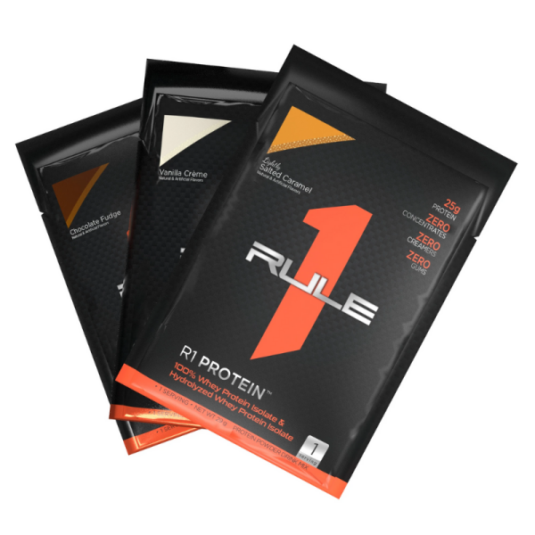 Sample Rule 1 Protein - 100% Whey ISOLATE + Hydrolyzed 28G - 1 Serving