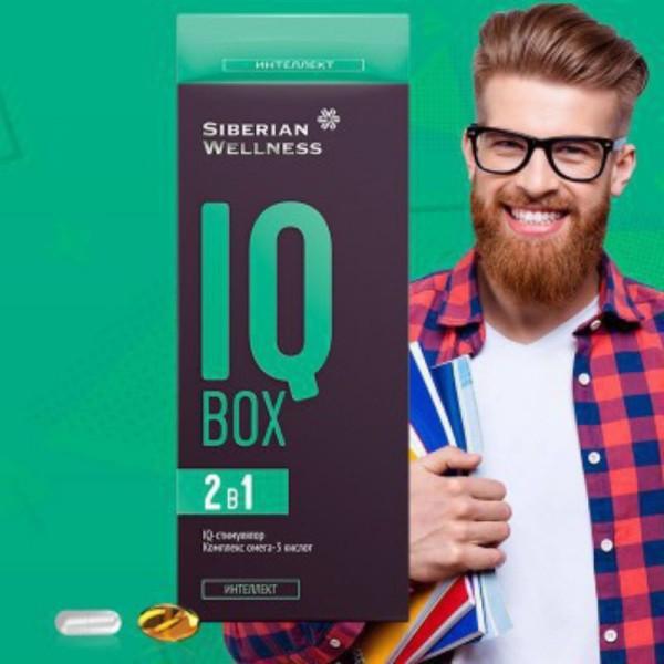 Thực Phẩm Bảo Vệ Thức Khoẻ IQ Box Siberi giá rẻ
