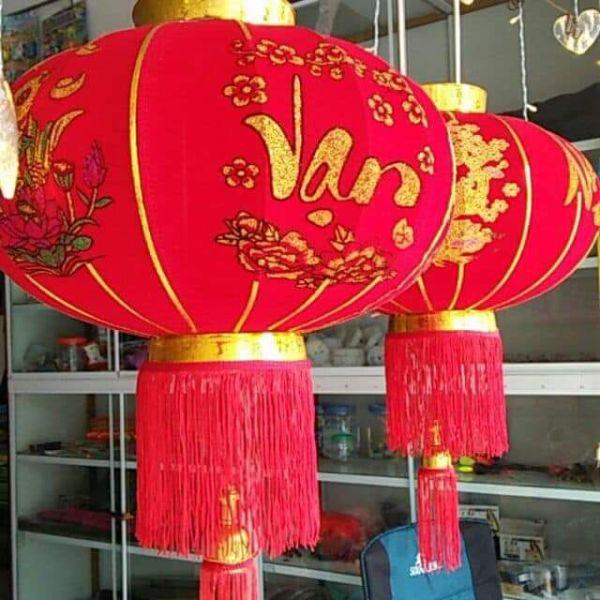 COMBO2 Đèn Lồng Trang Trí Nhà Cửa Ngày Lễ Tết Lộng Lẫy Cho Gia Đình,Đường Kính 70cm