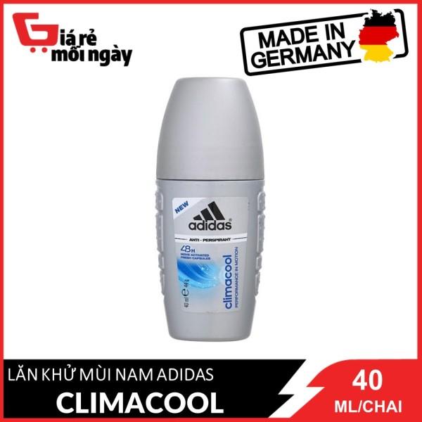 [HCM][Hàng nhập khẩu chính hãng] Lăn Khử Mùi Nam Adidas Ngăn Mồ Hôi Climacool 40ml
