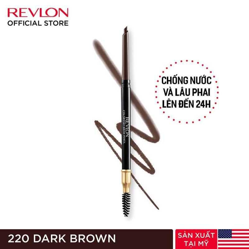 Chì kẻ mày lâu phai Revlon Colorstay Brow Pencil 0.35g
