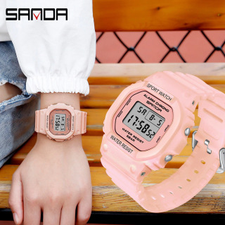 Đồng hồ Nữ thể thao SANDA VIVA, Thương hiệu Cao Cấp Của Nhật, Chống Nước Tốt - Đồng hồ nữ chống nước, Đồng hồ nữ thể thao, Đồng hồ nữ hàn quốc, Đẹp,Sang trọng,Đẳng cấp, Bền, Giá Sốc, Đồng hồ nữ thời trang thumbnail