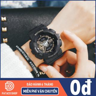 Đồng hồ thể thao nam nữ MSTIANQ M115 máy điện tử dây nhựa siêu bền có lịch ngày tự động kháng nước 3ATM bảo hành 6 tháng thumbnail