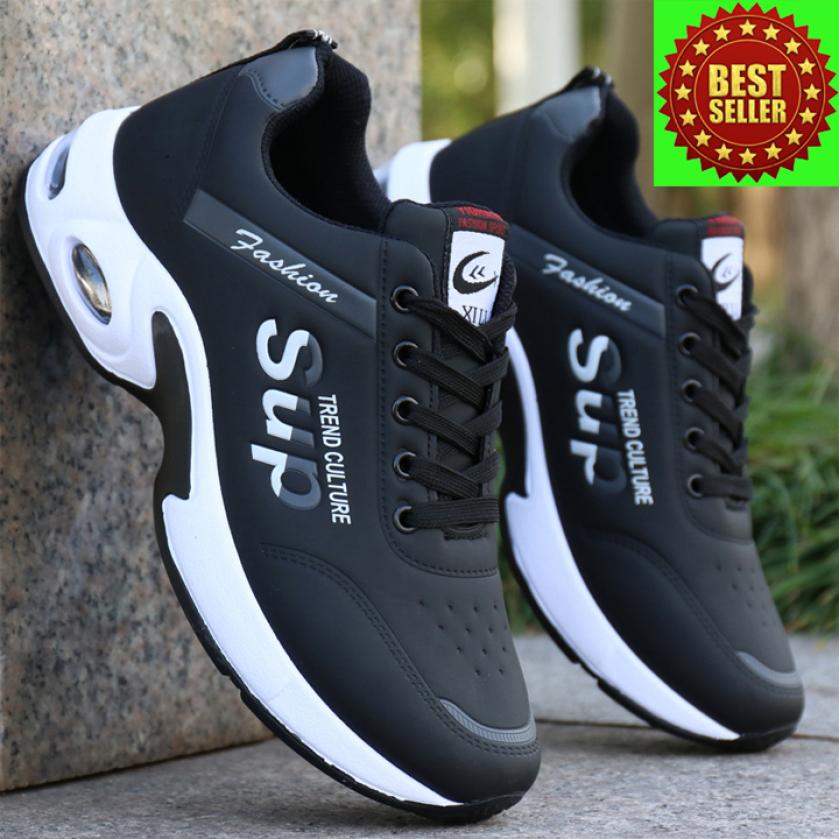 Giày thể thao nam sneaker LEMA Store Hót Trend 2020 - GN92 kiểu dáng giày cực ngầu trẻ trung mạnh mẽ giá rẻ