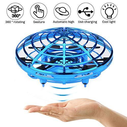 Đồ Chơi Đĩa bay cảm ứng thông minh UFO tự điều khiển - Máy bay cảm ứng quả cầu cảm ứng tự điều khiển giúp bé vận động sáng tạo Nhật Bản
