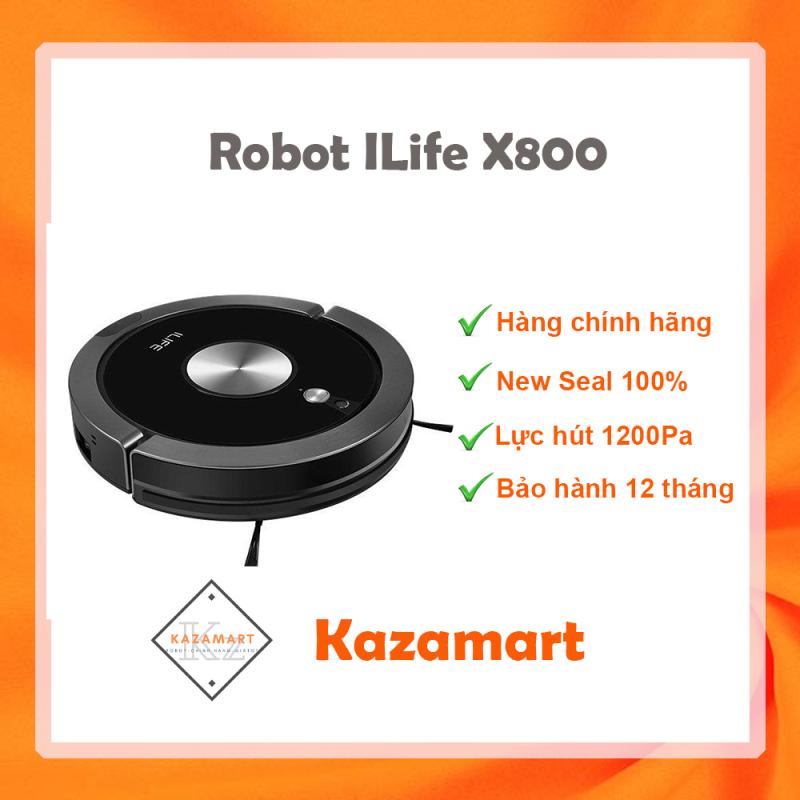 Robot Hút Bụi Lau Nhà ILIFE X800 ✔️ Hàng Chính Hãng ✔️ Giá Tốt ✔️ Bảo Hành 12 Tháng
