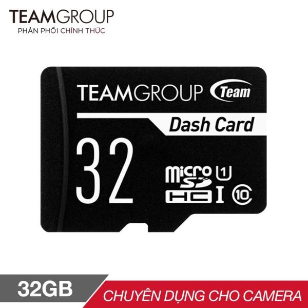 THẺ NHỚ MICROSDHC TEAM 32GB CHUYÊN DỤNG CHO CAMERA UP TO 80MB-S CLASS 10 U1