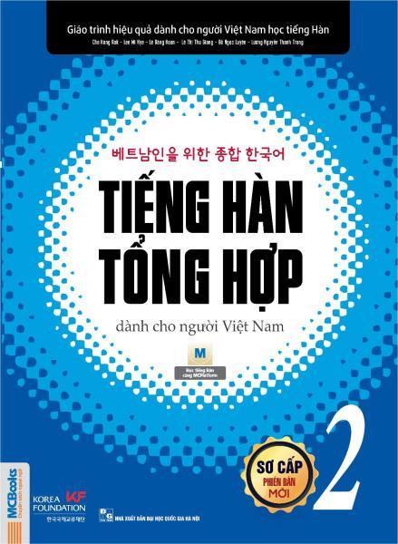 Mua Sách -Giáo Trình Tiếng Hàn Tổng Hợp dành cho người Việt Sơ cấp 2 MCbooks