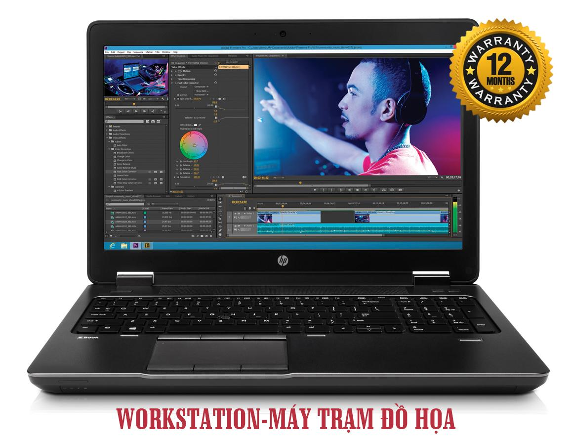 Laptop Đồ họa HP Zbook 15 Core i7-4800QM/ Ram 8Gb/ SSD 128Gb + HDD 500/ VGA Quadro K1100M/ 15.6 inch Full HD