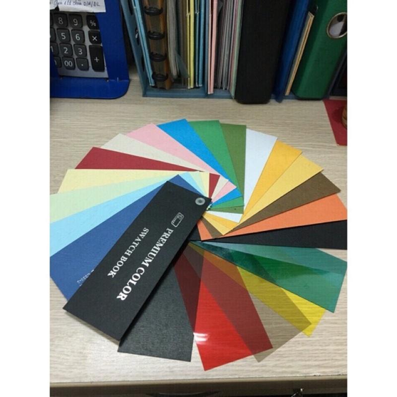 Mua Bìa màu A3 ( Thếp 100 tờ - Bìa sần da trâu)