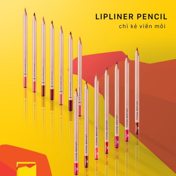 Chì Kẻ Viền Môi Vacosi Natural Studio Lipliner Pencil 3g (mẫu mới) giá rẻ