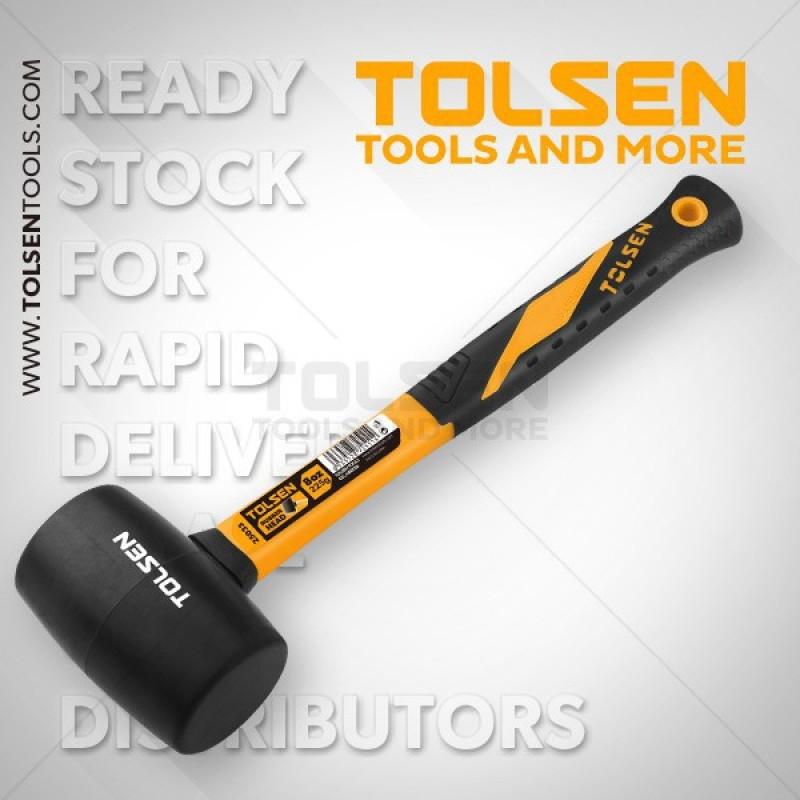 Búa cao su Tolsen 25033, chất liệu cao cấp, sản phẩm tốt, độ bền cao, chất lượng vượt trội, cam kết như hình