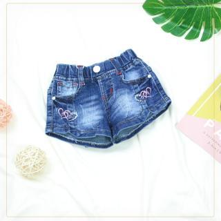 222 - Quần Short Jeans bé gái ( Quần áo trẻ em xuất khẩu ) thumbnail