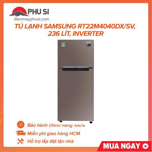 Tủ lạnh Samsung RT22M4040DX/SV, 236 lít, Inverter