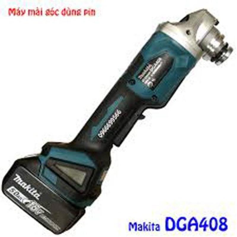 Máy mài góc dùng pin 18V Makita DGA408RTJ1 (18V:5Ah)