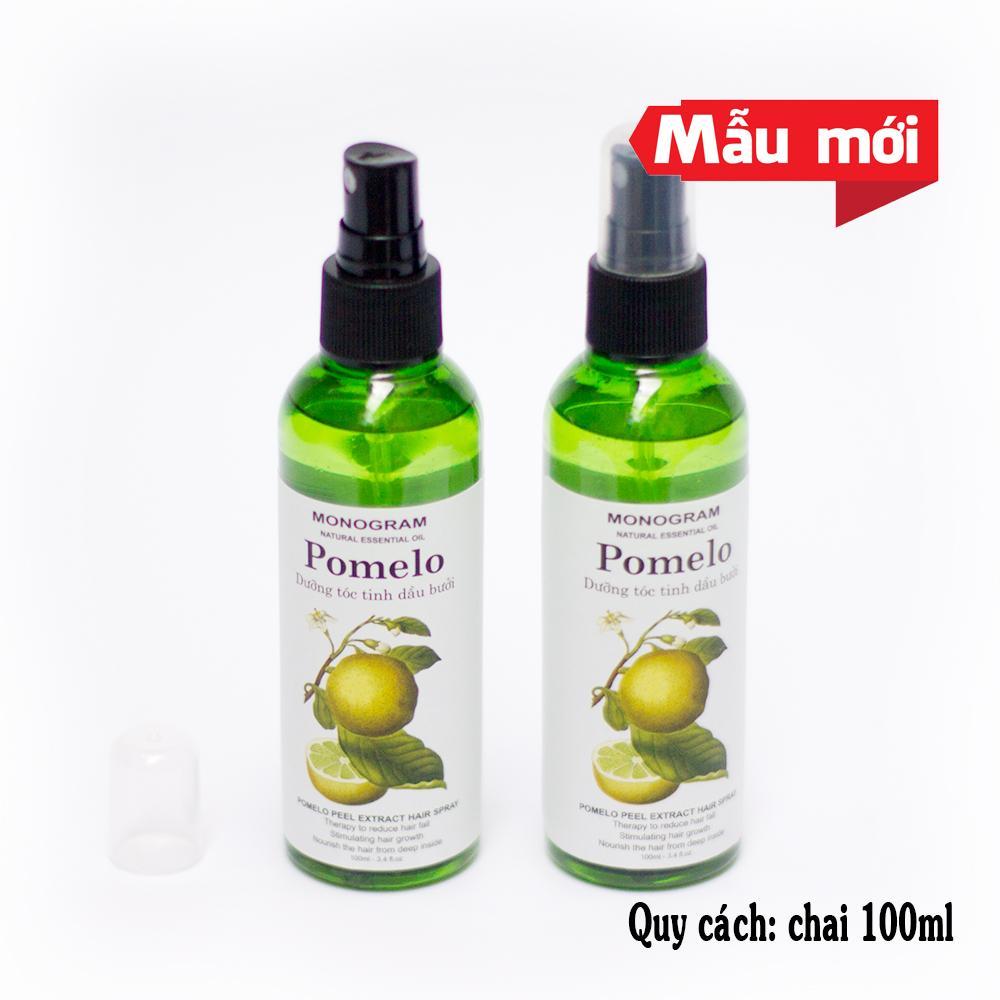 Bộ 2 Xịt dưỡng tóc tinh dầu bưởi POMELO 100ml x2