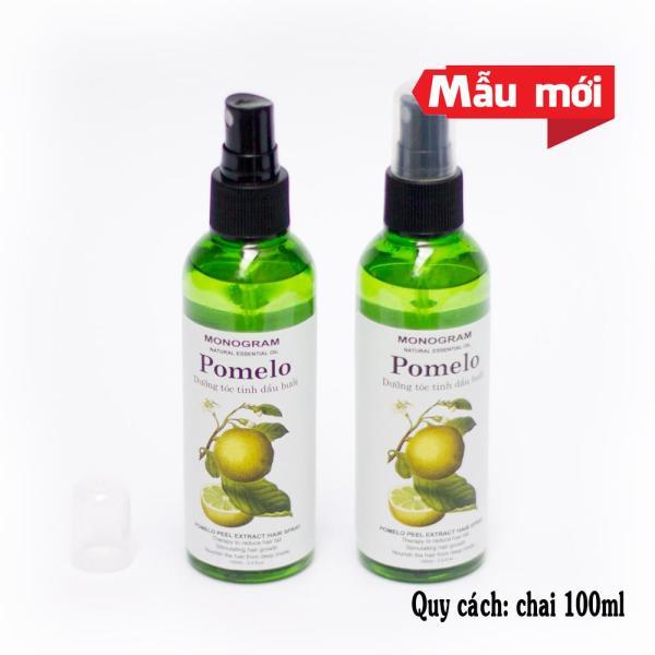 Bộ 2 chai xịt dưỡng tóc bưởi Pomelo giá rẻ