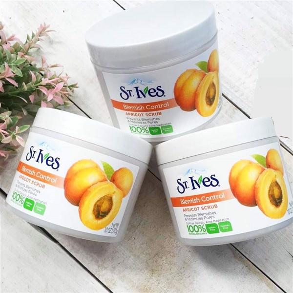 Tẩy Tế Bào Chết Body St.Ives Fresh Skin Apricot Scrub 283g - Tẩy tế bào chết toàn thân cao cấp