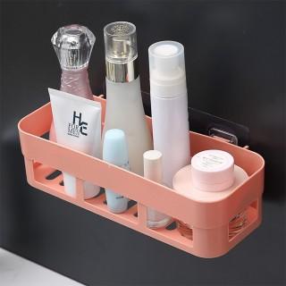 Kệ nhựa dán tường nhà tắm, nhà bếp hình chữ nhật ko cần khoan tường 88230 thumbnail