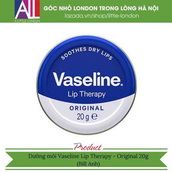 Dưỡng môi Vaseline Lip Therapy - Original 20g (Bill Anh)