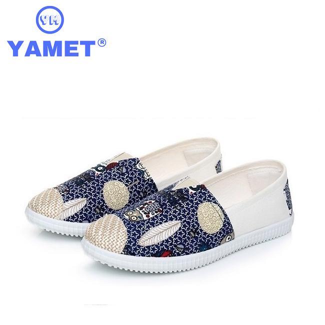 Giày Sneaker  Nữ Painting Siêu Thoáng YAMET YM36B29 Blue