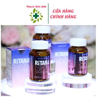 Viên Uống Ritana Skin Whitening (60 viên) - Hỗ Trợ Da Trắng Hồng Tự Nhiên & Làm Mờ Sạm Nám - thuocviet24h thumbnail