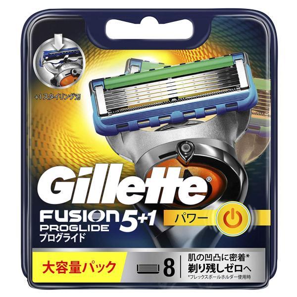 Vỉ 08 lưỡi dao thay thế Gillette Fusion 5+1 Proglide Power (Hàng nội địa Nhật) giá rẻ