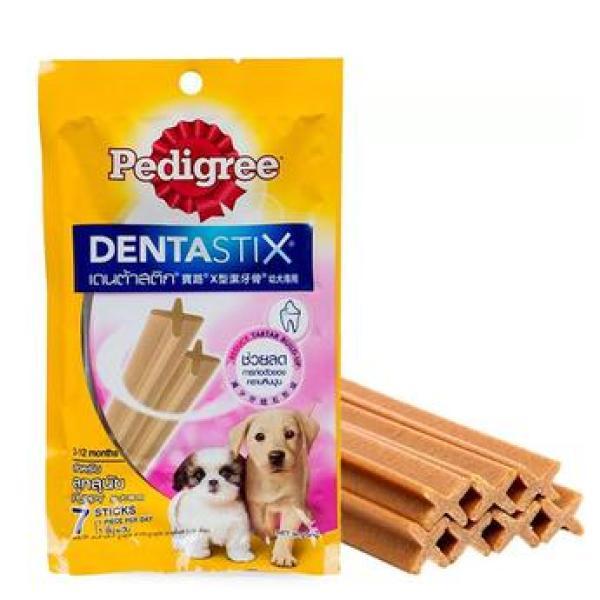 Xương gặm sạch răng Pedigree Dentastix cho chó con 56g