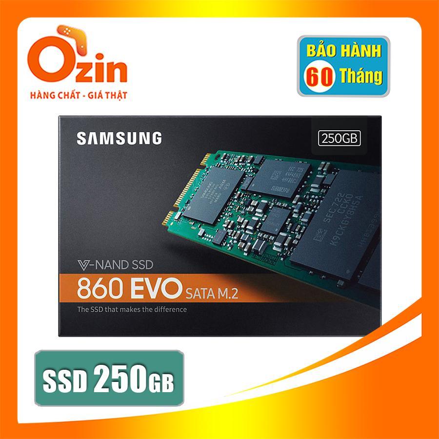 Ổ cứng SSD samsung 860 Evo 250GB M.2 SATA (new version)