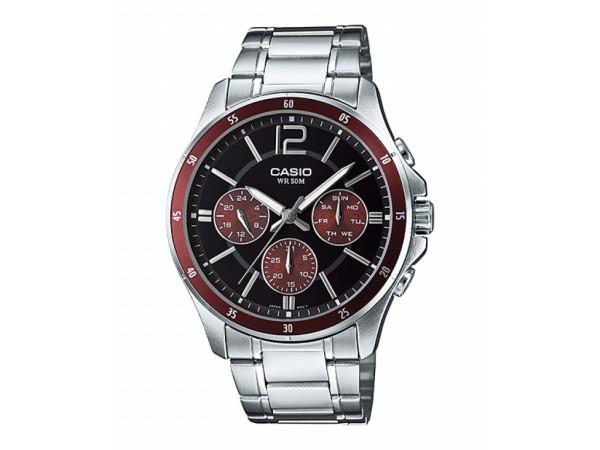 Đồng hồ nam Casio MTP-1374D-5AVDF Dây kim loại nam tính