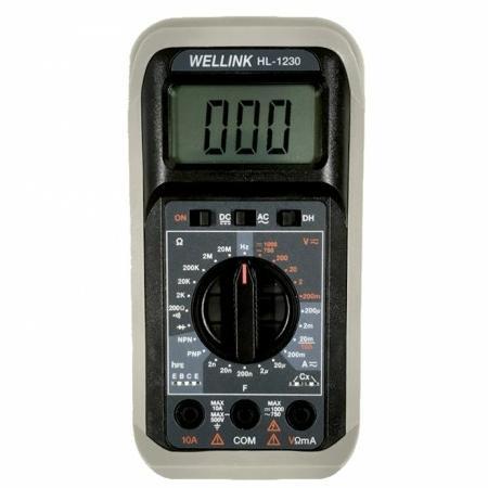 Đồng hồ vạn năng hiện số WELLINK HL 1230
