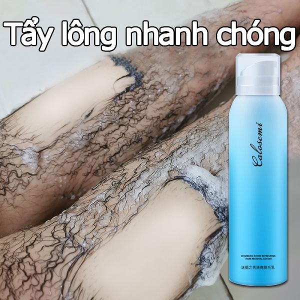 Tẩy lông nhanh vĩnh viễn Xịt Tẩy Lông Kem tẩy lông 150ml nhanh chóng không đau Tẩy lông toàn thân Thích hợp cho mọi loại da chân, tay, nách và vùng bikini triệt lông