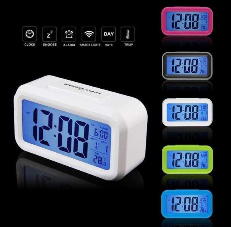 Dong ho bao thuc, Đồng hồ led - Đồng Hồ LCD Led Để Bàn HD51 Thông Minh Tích Hợp 4 Chức Năng: Đồng hồ, Báo thức, Nhiệt kế, Lịch. Thiết Kế Nhỏ Gọn, Sử Dụng Đơn Giản - BH 1 đổi 1 bán chạy