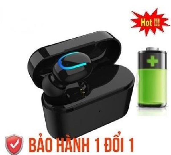 Tai nghe Bluetooth 4.2 cao cấp Q26, tai nghe không dây siêu trầm nhét tai cao cấp - TẶNG KÈM CHÂN ĐẾ KIÊM HỘP SẠC