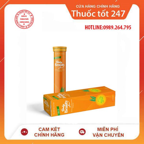 Viên sủi giảm cân BODY BEAUTY SLIM CHÍNH HÃNG - TS001 nhập khẩu
